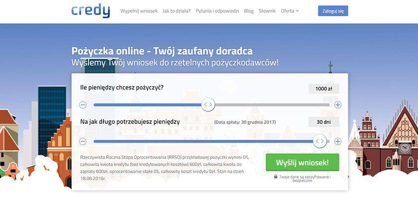 Credy.pl pożyczka online – Twój zaufany doradca