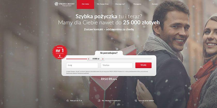Profi Credit – pożyczka pozabankowa do 25 000 zł
