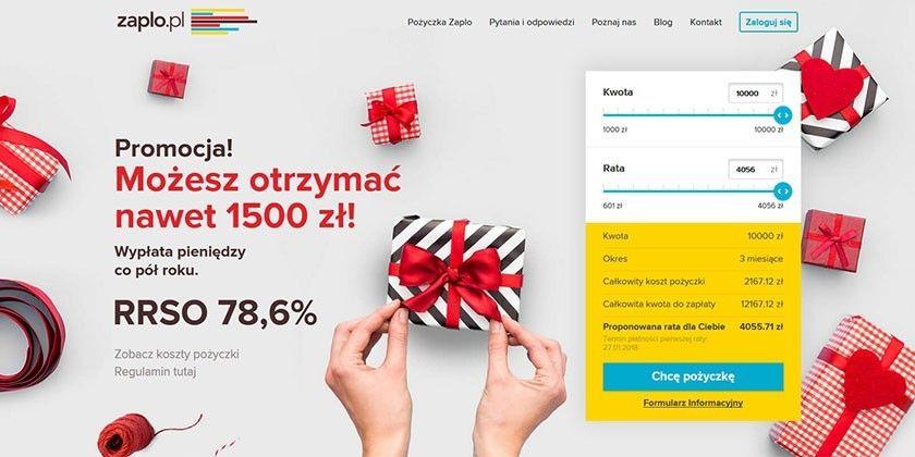 Zaplo – szybkie pożyczki na raty online