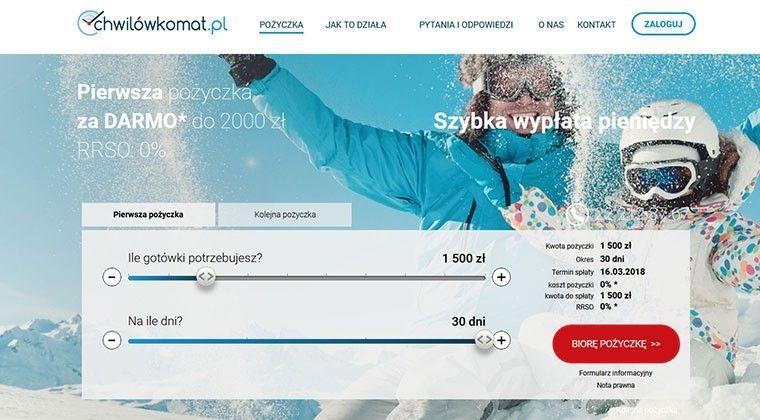 Chwilowkomat.pl – szybkie chwilówki online do 5000 zł