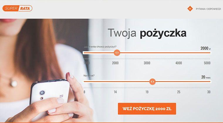 SuperRata – szybkie pożyczki na raty do 5000 zł