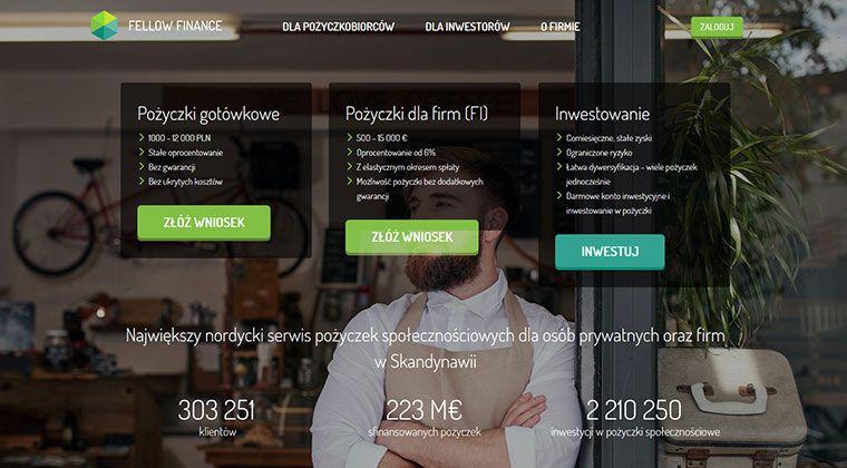 Fellow Finance – pożyczki gotówkowe na raty do 12 000 zł